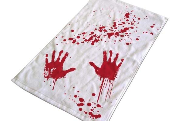 Enlever une tache de sang sur un vêtement